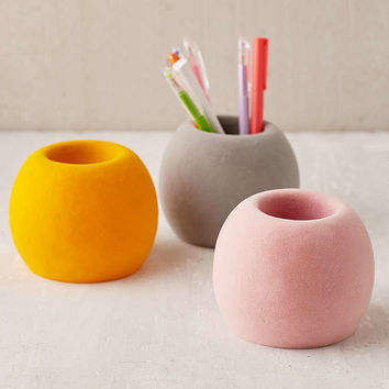Flocked Pencil Cup - Urban Outfitters