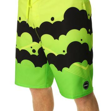 O'Neill Men's Hyperfreak Brooklyn Clouds Boardshorts