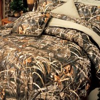Realtree© Max-4 Camo King Comforter Set | Free Shipping