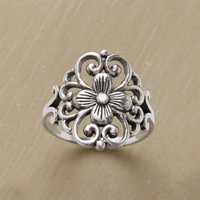 Filagree Flower Ring | Robert Redford's Sundance Catalog