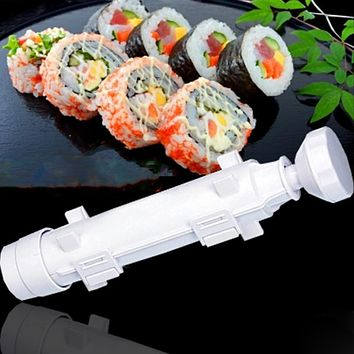 Kitchen Accessories Sushi Roller Kit Sushi Rolls Sushi Mold Maker Making Tool Rice Mould Roller Cooking Tools Bento Accessories