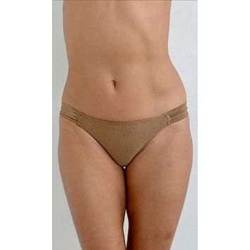 Corpo Bonito Barra Bella BRONZE Full Bikini Bottom