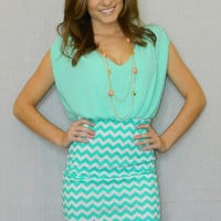 She's So Sophisticated Dress (Mint) | Girly Girl Boutique