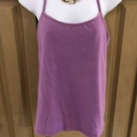 Eileen Fisher Purple Tank Top Size L