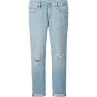 WOMEN SLIM BOYFRIEND FIT ANKLE LENGTH JEANS | UNIQLO