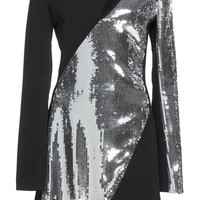 Chest Cutout Sequin Mini Dress | Moda Operandi