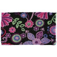 Garden Odyssey KG/CE/3S 004 Creel Floral Abstract Design Coir Door Mat