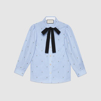Gucci Rose fil coupé shirt