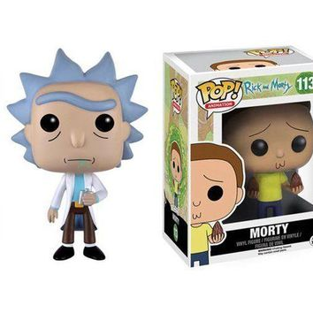 "Funko Set OF 2 Rick And Morty 3.75"" Vinyl Figure Pop IN STOCK"