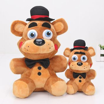 15cm 25cm Adventure Game Five Nights At Freddy's 5 plush toy freddy FNAF Freddy Fazbear's Pizza Plush Toys stuffed Doll