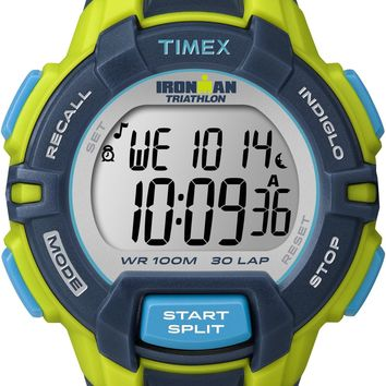 Timex Mens 30 Lap Resin Strap Watch
