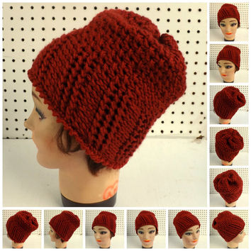 Crochet Pattern Hat, Womens Crochet Hat Pattern, Womens Hat, Ribbed and Seed Stitch Crochet Beanie Hat Pattern for Beginners Crochet Pattern