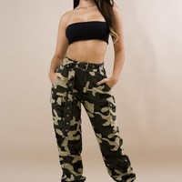 Camo Barbie Pant-Camouflage