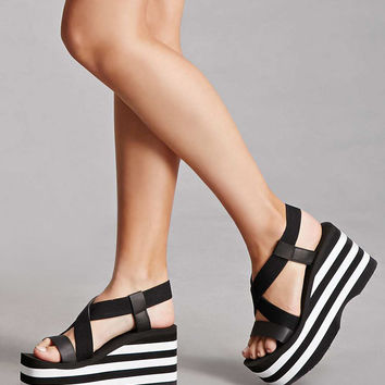 Rocket Dog Striped Wedges