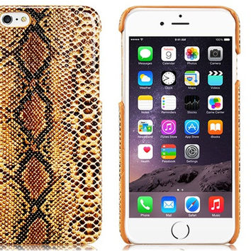 Snake skin Plastic Case for iPhone 6\6s
