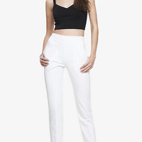 HIGH WAISTED ULTIMATE DOUBLE WEAVE ANKLE PANT from EXPRESS