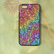 Sparkle Rainbow -iPhone 5 case, iphone 4s case, iphone 4 case, Samsung GS3 case-Silicone Rubber or Hard Plastic Case, Phone cover