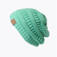 Slouchy Knit Beanie - 22 colors