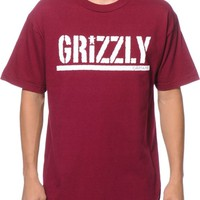 Diamond Supply Co x Grizzly Stamp T-Shirt