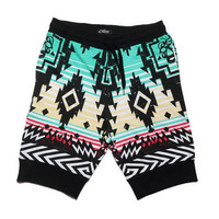 Bangkok Sweatpant-Shorts - Black