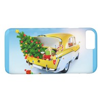 Christmas Car iPhone 8/7 Case