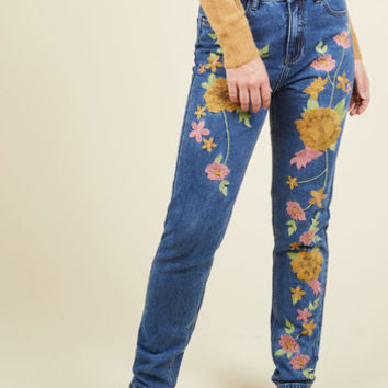 Stitching You All the Best Jeans | Mod Retro Vintage Pants | ModCloth.com