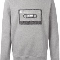 Carven Cassette Embroidered Sweatshirt - Stefania Mode - Farfetch.com