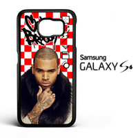 Chris Brown Y2696 Samsung Galaxy S6 Case