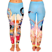 Adventure Time Cast Leggings |