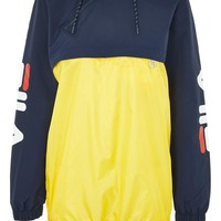 Colour Block Zip Detail Jacket by FILA - Jackets & Coats - Clothing