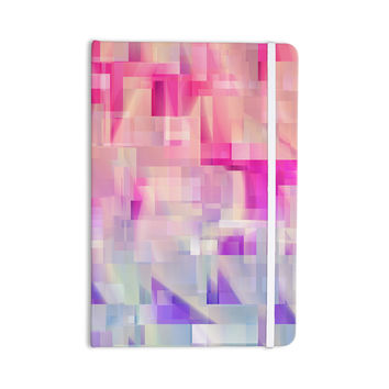 "Gabriela Fuente ""Winter Flow"" Pink Purple Everything Notebook"