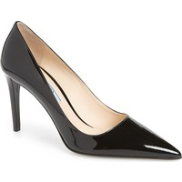 Prada Pointy Toe Patent Pump (Women) | Nordstrom