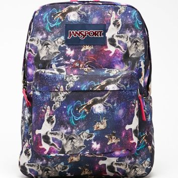 JanSport Superbreak Astro Kitty School Backpack - Womens Backpack - Multi - One