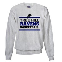 Tree Hill Ravens Basketball Sweatshirt by jeebazz