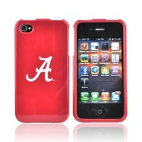 ALABAMA CRIMSON TIDE For NCAA iPhone 4 Hard Case Cover