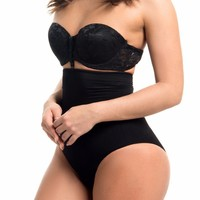 Seamless High Waisted Body Shaper BLACK -RESTOCKED