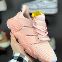 HCXX A1363 Adidas ORIGINALS PROPHERE Knit Fashion Running Shoes Pink