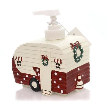 Kitchen CHRISTMAS VACATION DISPENSER Polyresin Christmas Camper 871620