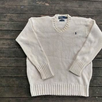 Polo Ralph Lauren knit sweater design vintage