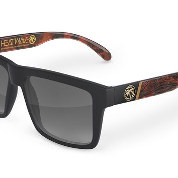 VISE Sunglasses: Wood Grain Customs