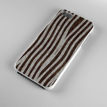 DS286-iPhone Case - Iphone 5 case-Iphone 5s case - Iphone 4 case - Iphone 4s case - Iphone Cover -Animal Print Zebra iPhone Case