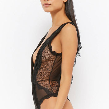 Oh La La Cheri Pleated Satin Teddy