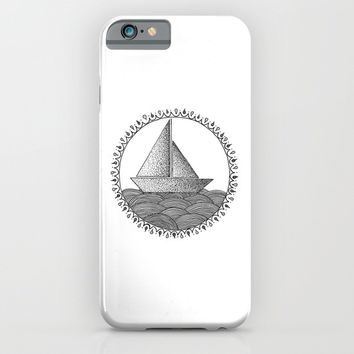 Sailing Boat iPhone & iPod Case by Cinema4design
