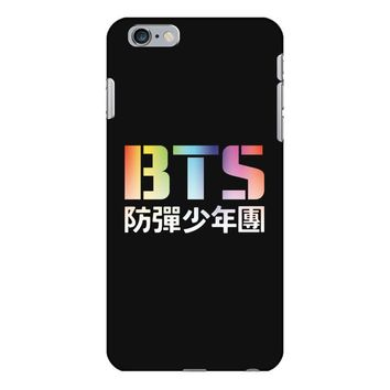 BTS Bangtan Boys Rainbow Logo iPhone 6/6s Plus Case