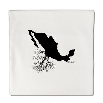 "Mexican Roots Design Micro Fleece 14""x14"" Pillow Sham by TooLoud"