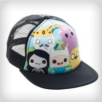 Adventure Time Funko Group Shot Trucker Hat