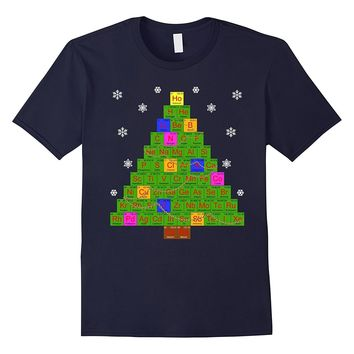 Chemistry Chemistree Science Ugly Christmas Sweater Tshirt