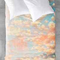 Shannon Clark For DENY Softly Duvet Cover- Sky