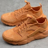 "NIKE AIR HUARACHE 4 ""WHEAT"" Running Shoes 829669-335"