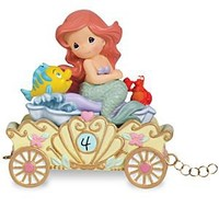 ''Make a Splash on Your Birthday'' Fourth Birthday Ariel Figurine by Precious Moments | Disney Store